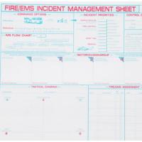 Buy cheap Accountability Incident Management Sheet - Bio Chemical & Fire/EMS from wholesalers
