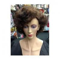 Buy cheap Beards And Moustaches Coco Chanel 1920's Short Wavy Bob Flapper Wig from wholesalers