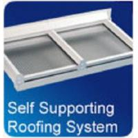 Buy cheap Self Supported Roofing Kits 16mm Polycarbonate Roofing kit - 3m, 4m, 5m or 6m from wholesalers