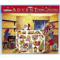 Buy cheap Santa Sticker Advent Calendar by Caltime Limited product