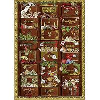 Buy cheap Nostalgic Christmas chest A4 Traditional German Advent Calendar Coppenrath product