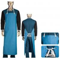Buy cheap Food Safe Heavy Duty Fish Cleaning Apron PVC Coated Nylon Fabric CE / ISO9001 from wholesalers