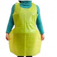 Waterproof Disposable Plastic Aprons Kitchen LDPE HDPE For Kitchen Hotel Cooking