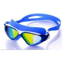 Buy cheap High Performance Swimming Goggles , Eye Goggles For Swimming Blue Color from wholesalers