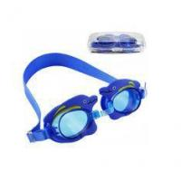 Buy cheap Non Slip Double Strap Kids Prescription Swim Goggles Customized Logo Printing from wholesalers