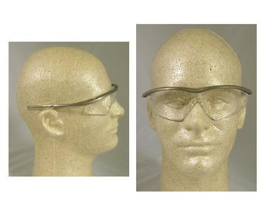 Quality MCR Crews Tremor Safety Glasses Taupe Frame w/ Clear Lens (CLOSE OUT) for sale