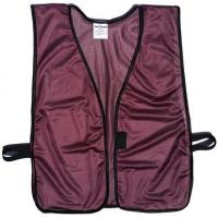 Buy cheap Maroon Soft Mesh Plain Safety Vest product