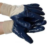 Buy cheap Nitrile Palm Coated w/ Knit Wrist Gloves (Sold by Dozen) Size Large product