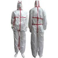 Buy cheap Tear Resistant Clean Room Bunny SuitAnti - Shrink With Adhesive Sealed Tape from wholesalers
