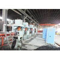 Hot rolling flat rolling production line