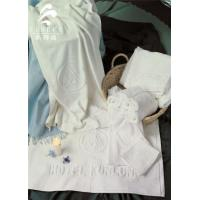 Buy cheap Star Hotel Used White 100% Cotton Jacquard Terry Towel from wholesalers