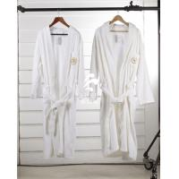Buy cheap Customized Mens Velour Terry Shawl Collar Hotel Bathrobe from wholesalers