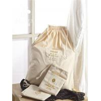 Most Popular Washable Friendly Custom Canvas Drawstring Laundry Bag For Hotel