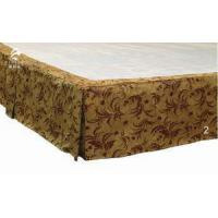 2017 Wholesale Customized High Quality 5 Star Hotel Jacquard Bed Skirt