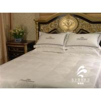 Buy cheap Hotel Collection Bed Linen Textile Fabric White Duvet Cover Sets Cotton Cheap Comforter Bedding Sets from wholesalers
