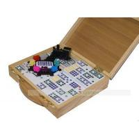 PUB GAMES Mexican Train Dominoes in Wooden Case Prod.Ref: 00H470