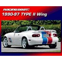 Buy cheap Racing Beat Type II Mazda Miata Rear Wing - 1990-1997 from wholesalers