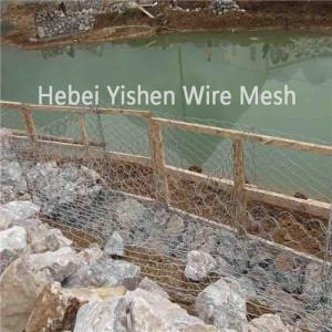 Quality Rivers and Dam Scour Protection With Gabion Mesh for sale