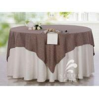 Buy cheap High Quality 100% Cotton Hotel Banquet Table Cloth from wholesalers