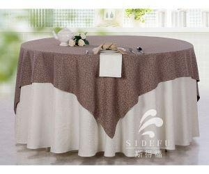 Quality High Quality 100% Cotton Hotel Banquet Table Cloth for sale
