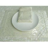 Buy cheap Woven Placemats Hotel Breakfast Buffet Polyester Placemats Anti Slip from wholesalers