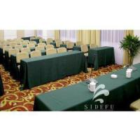 Buy cheap High Quality 100% Polyestyer Hotel Banquet Table Cloth product