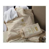 Buy cheap Hotel High Quality Drawstring Large Laundry Bag, Cotton Laundry Bag from wholesalers
