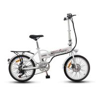 Buy cheap best sell electric bikes electric folding bike 36v hidden battery from wholesalers