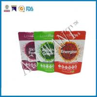 Buy cheap stand up food pouches Zipper Stand Up Food Pouch from wholesalers