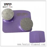 Buy cheap Double round segments grinding pads with redi-lock product