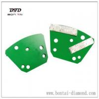 Buy cheap 6 holes 2 bars Trapezoid grinding plates product