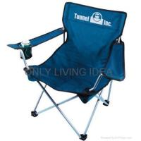 Buy cheap folding camping chairs with footrest Folding Camping Chair from wholesalers
