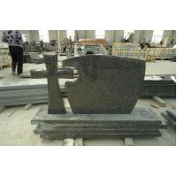 Buy cheap Tombstone Gravestone Monument Snow Black Poland Tombstones Granite Headstones from wholesalers