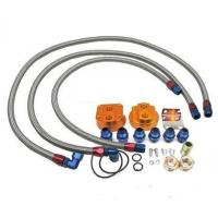 Buy cheap 4C-OCF-9070 - Sonic Motor Oil Cooler Relocation Kit with Stainless Steel Braided Line from wholesalers