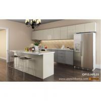 Buy cheap OP15-HPL03: Canada Project HPL Kitchen Cabinet from wholesalers
