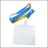 Buy cheap Two Sides Different Color Sublimation Logo Polyester ID Card Rope Neck Strap from wholesalers