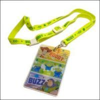 Buy cheap Cartoon Lanyard with Thin Card Holder Slim Front Pocket Wallet from wholesalers