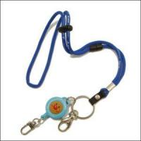 Buy cheap Wholesales China Round Jacquard Cord Lanyard with Cartoon Retractable Reels product