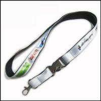 Buy cheap Heat-transferred Satin Lanyard for Adverting Gift from wholesalers