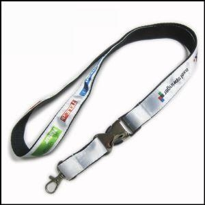 Quality Heat-transferred Satin Lanyard for Adverting Gift for sale