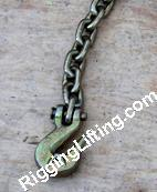 Grade 70 Binder Chain With Grab Hook