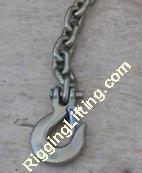 Buy cheap G70 Galv.Binder Chain with Clevis Slip Hook from wholesalers