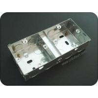 Buy cheap Metal Electrical Box 3x6 35mm Deep Flush Mount Electrical Box With Two Terminals from wholesalers