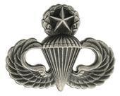 Buy cheap Master Parachutist Badge Silver-Oxide Finish from wholesalers