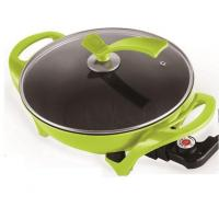 Buy cheap 30 CM Teflon Coating Multifunctional Round Electric Frying Pan from wholesalers