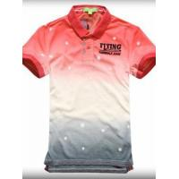 Buy cheap Fairwhale Gradients Contrast Color Short Sleeve Polo T-shirt for Men from wholesalers