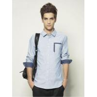 Buy cheap Campus Casual Style Long Sleeve Shirt for Men from wholesalers