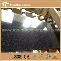 Buy cheap Big Size Polished Angola Black Granite Slabs Prices from wholesalers