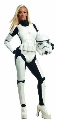 Quality Star Wars Costumes Rubie's Star Wars Female Stormtrooper, White/Black, Large for sale