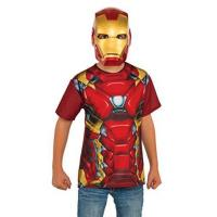 Buy cheap Rubie's Costume Captain America: Civil War Iron Man Child Top and Mask, Medium from wholesalers